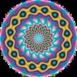 Fluorescent Mandala
